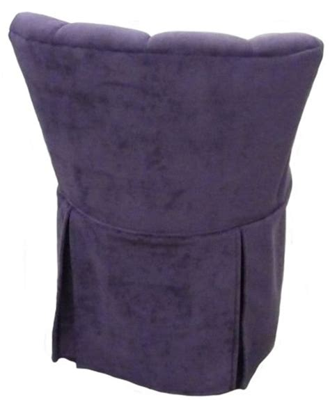 vanity stool with skirt elizabeth swivel vanity chair with kick pleat skirt
