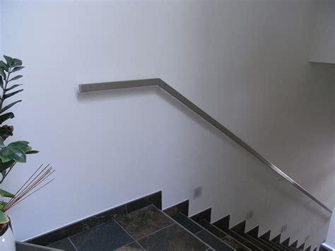 corrimano acciaio inox corrimano rettangolare in acciaio inox satinato