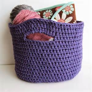 crochet stash basket free crochet pattern she s got the