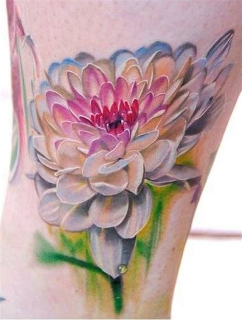 watercolor tattoo flower sleeve 14 watercolor dahlia tattoos
