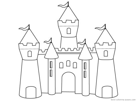princess house coloring pages castle coloring pages to and print for free