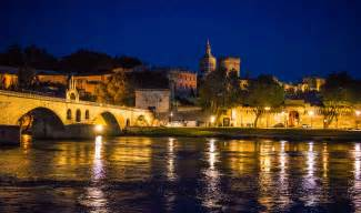 avignon france at night travel past 50