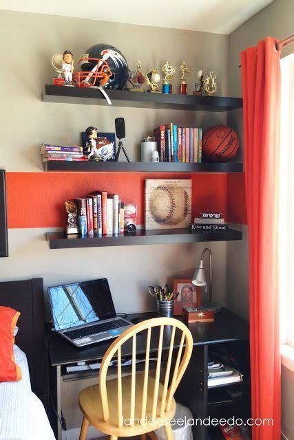 teen boy bedroom reveal bedroom makeovers shelves and