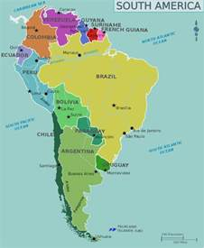 central america south america map backpacking budget for south america myfunkytravel
