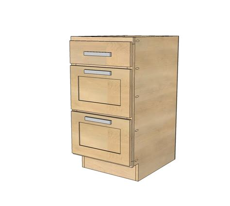 bench wood base cabinet plans