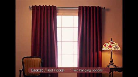 fashion 4 home best home fashion blackout curtains