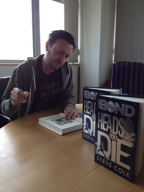 young bond heads you 1782952411 my 2nd young bond novel heads you die is published today steve cole