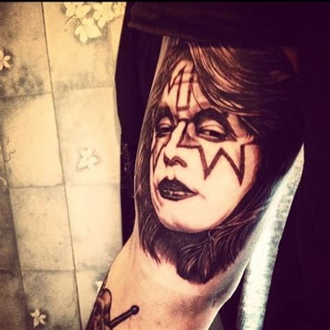 paul stanley rose tattoo 17 best images about tattoos on godzilla