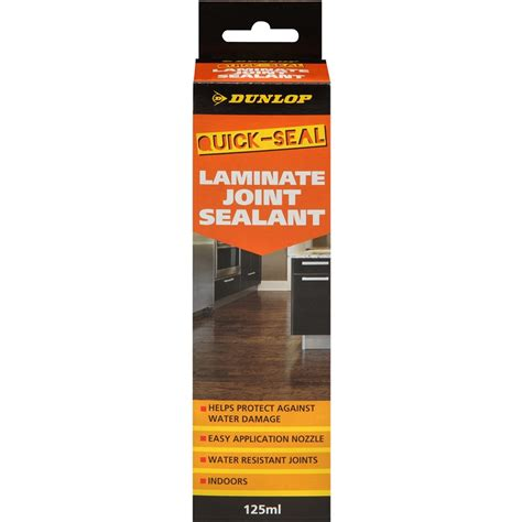dunlop flooring 125ml laminate joint quick seal bunnings