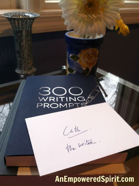 300 writing prompts books how the magic of a book was special to me cathy chester