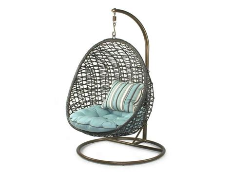 outdoor swinging egg chair outdoor furniture design and ideas part 33