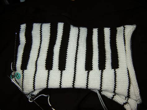 knitting pattern piano scarf knitting love wip wednesday piano scarf
