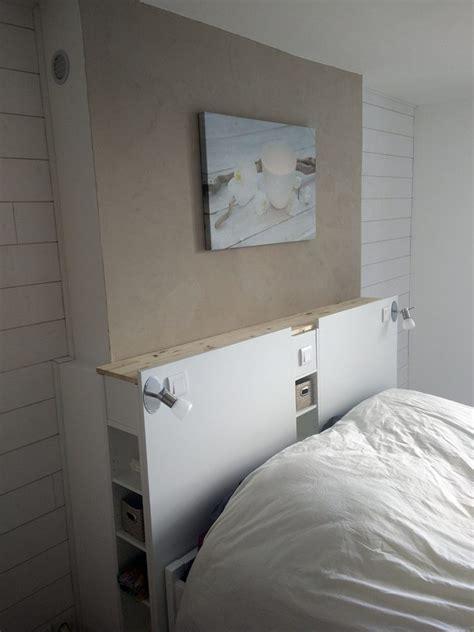magnifique t 234 te de lit ikea avec rangements en diy