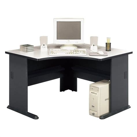 bush office furniture series a bush business series a 48 quot corner desk in slate wc8427a