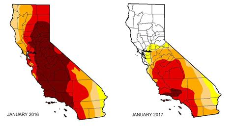 california drought map parade of storms pulls northern california out of drought