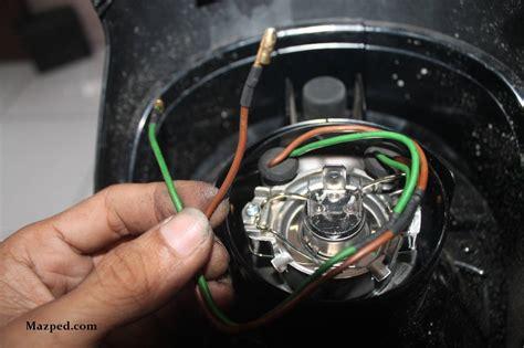 Pelindung Kabel Karet 2 Warna pasang lu senja di headl scoopy fi mazpedia