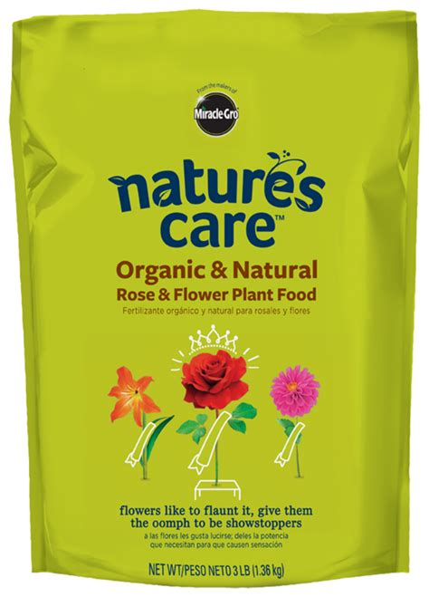 plant food that comes with flowers organic rose flower food nature s care 174