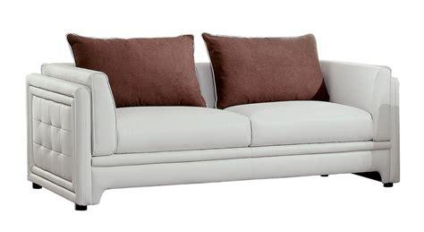 azure sofa homelegance azure sofa set faux leather off white 8478