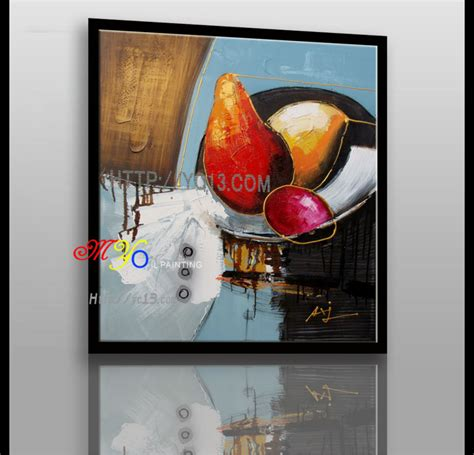 Harga Cat Akrilik Eceran rumah seni dekorasi karya seni abstrak burung kecil merah