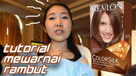 tutorial curly rambut menggunakan catok tutorial cara mewarnai rambut menggunakan revlon colorsilk