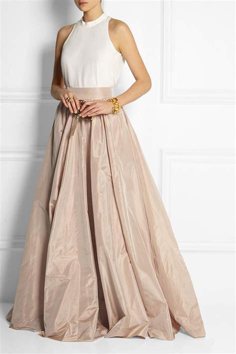 Silk Skirt best 25 taffeta skirt ideas on skirts