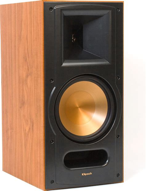 klipsch reference rb 81 ii cherry bookshelf speaker at