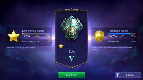 mobile legend ranked mobile legends ranked epic league gameplay