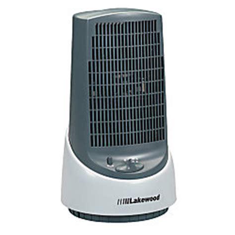 lakewood 14 oscillating 3 speed mini tower fan by office