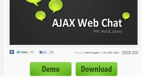 tutorial website chat ajax web chat with php and mysql tutorial for beginners