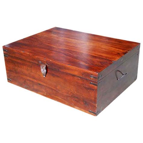 nevada solid wood coffee table trunk