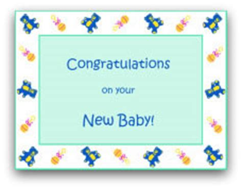 congratulations baby shower card template free printable baby cards lots of designs