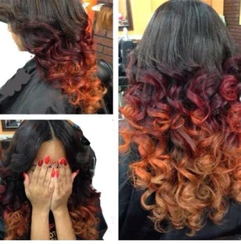 sew ins buford ga sew in and ombr 233 color by honey yelp