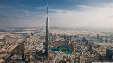 burj khalifa dubai united arab emirates 4k hd desktop