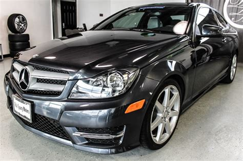 2014 Mercedes C350 Coupe by 2013 Used Mercedes C Class 2dr Coupe C350 4matic At