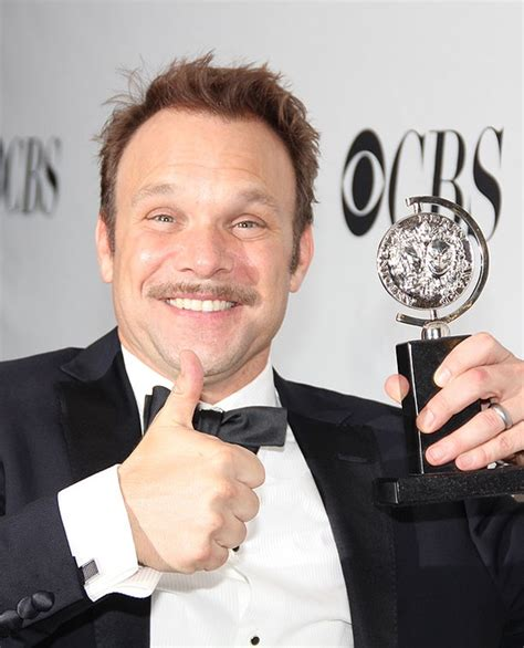 norbert leo butz tony speech most grateful man in the room norbert leo butz takes