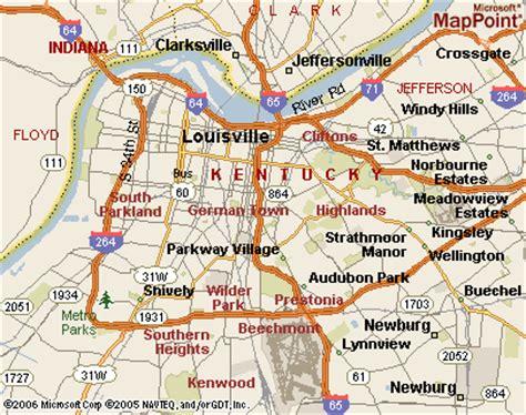 kentucky interactive map maps