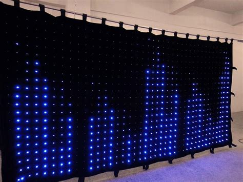 diy led video curtain p10 indoor flexible led curtain programmable led curtain