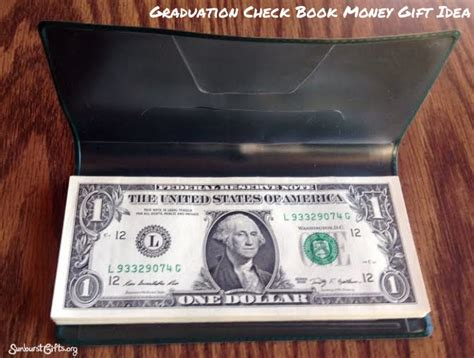 Can You Cash Gift Cards At Banks - unique checkbook money gift graduation thoughtful gifts sunburst giftsthoughtful