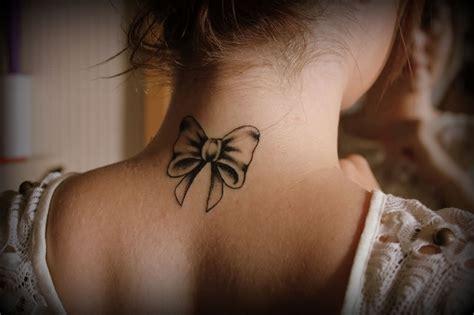 Ribbon Tattoo On Neck   22 beautiful ribbon tattoos