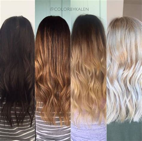 blonde to brunette hair color level 2 box dyed brunette to beautiful blonde hair color