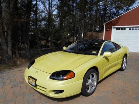 yellow dodge stealth 1994 dodge stealth r ttwin turbo pearl yellow