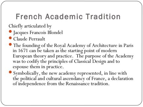 jacques francois blondel ppt 1a eighteenth century concepts