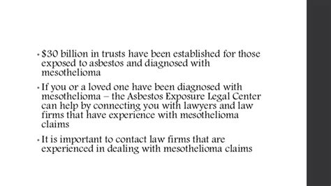 Mesothelioma Settlement Fund 5 by Asbestos Lawyers You Will Need One For A Mesothelioma Lawsuit