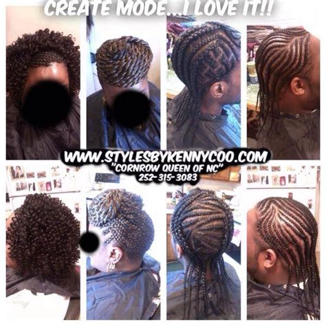 kenny coo braiding a cornrow styles by kenny coo located at princess cuts