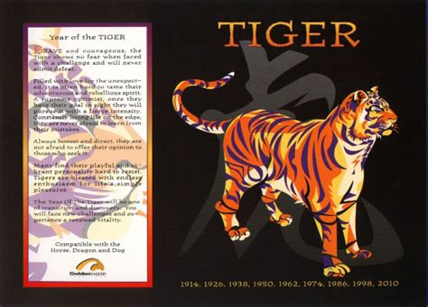 the chinese astrology chinese horoscope signs the tiger