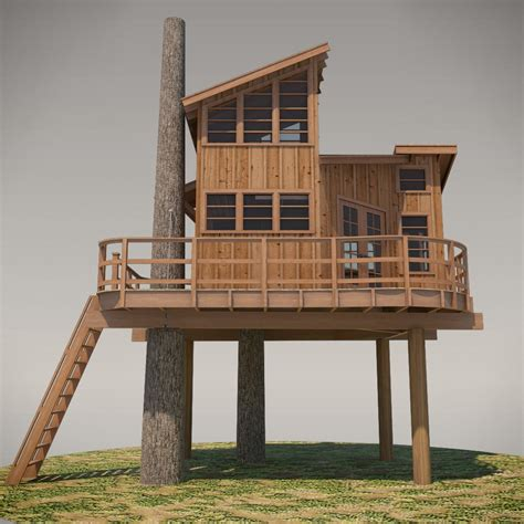 treehouse design software diy treehouse plans no 13 nooksack designed by pete