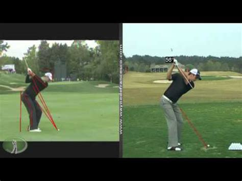 rose swing justin rose swing analysis youtube