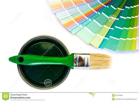 different shades of green paint green paint and swatch royalty free stock photos image