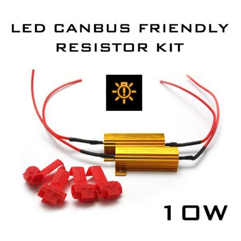 buy led resistors 10w led canbus error free load resistor kit