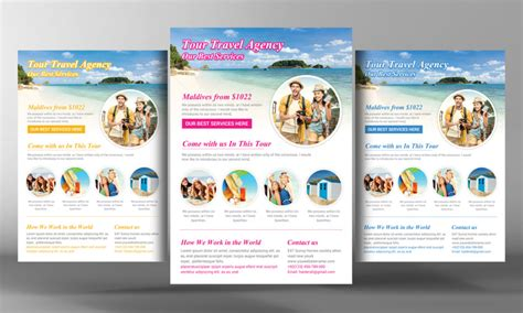 island brochure template 15 travel tourism flyer psd templates graphic cloud